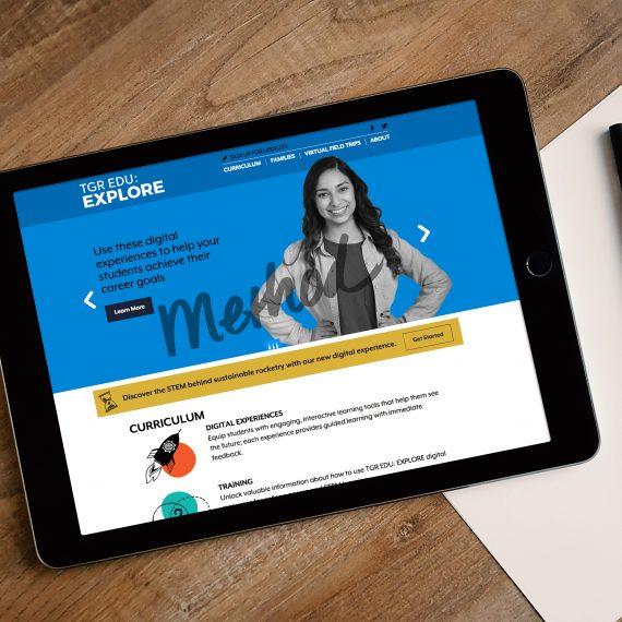 TGR EDU: Explore website